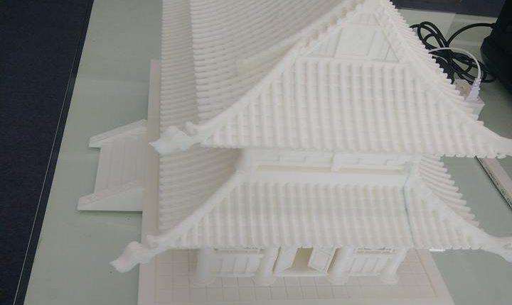 Chế sa bàn 3D - in 3D mô hình kiến trúc