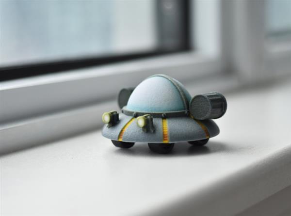 Hình ảnh Tiny Rick không thể đáng yêu hơn với in 3D