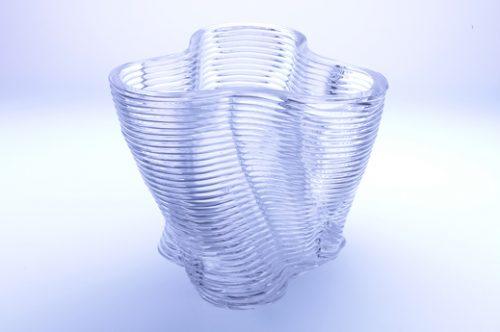 gia công mẫu chai thủy tinh mực in 3D thủy tinh nóng chảy