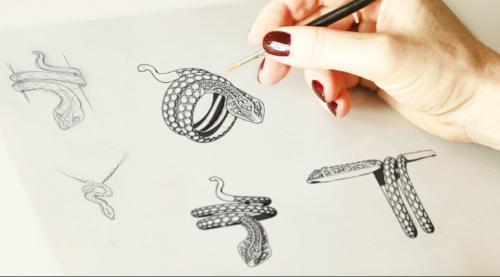 kỹ năng phác thảo nhanh mẫu nữ trang