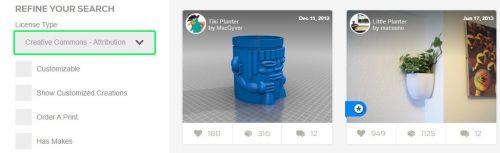 Tìm kiếm file 3D STL miễn phí trên Thigiverse