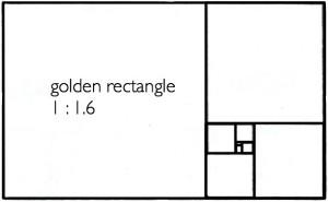 Tỷ lệ vàng, cũng là một cách để tạo ra điểm trội trong thiết kế.