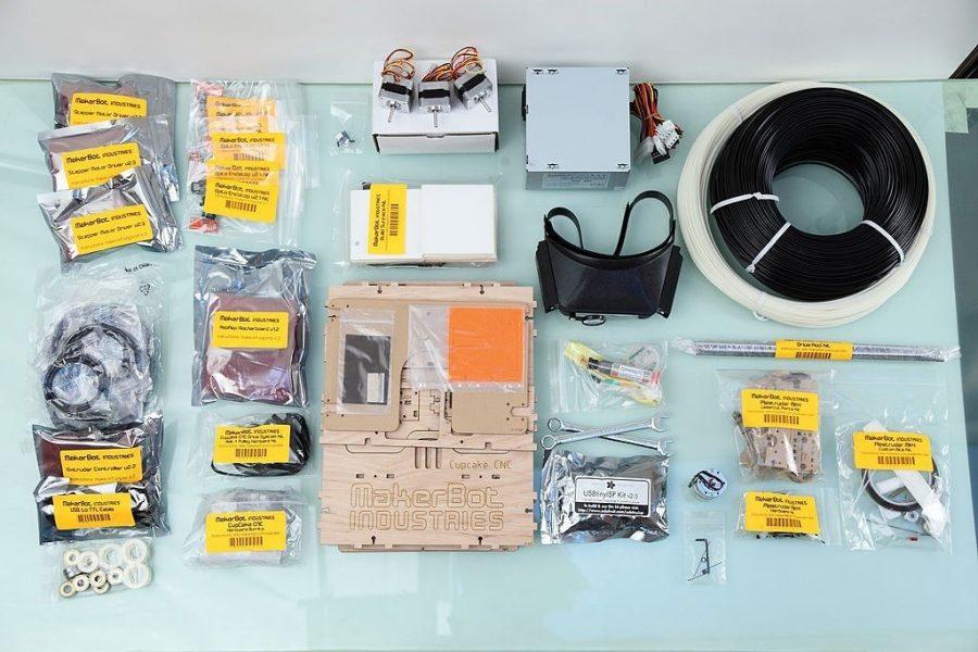Bột kit , linh kiện ráp máy in 3D