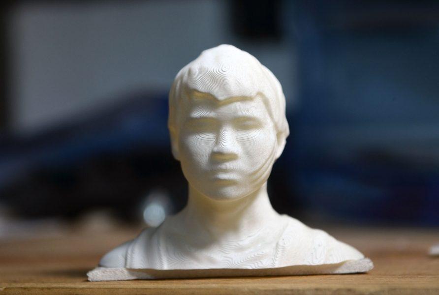 Bạn cũng có thể in 3D một phiên bản cùng kích thước và hình dáng của một ai đó.