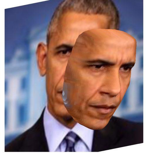 tao anh 3D obama