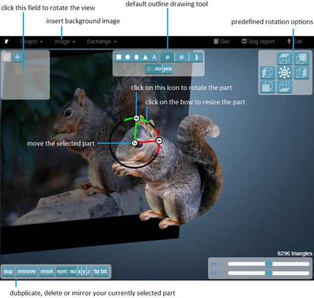 Smoothie 3D, phần mềm làm file 3D từ anh chụp