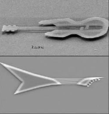 Cây đàn kích cỡ hàng micromet