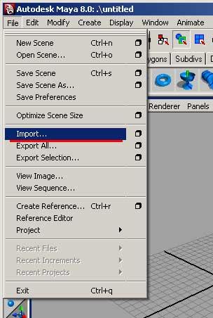 Nhập dữ liệu game 3D  vào phần mềm