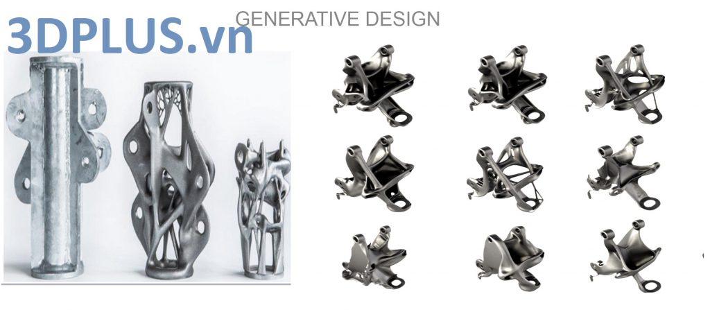 thiết kế tự sinh, tạo mẫu phức tạp, generative design