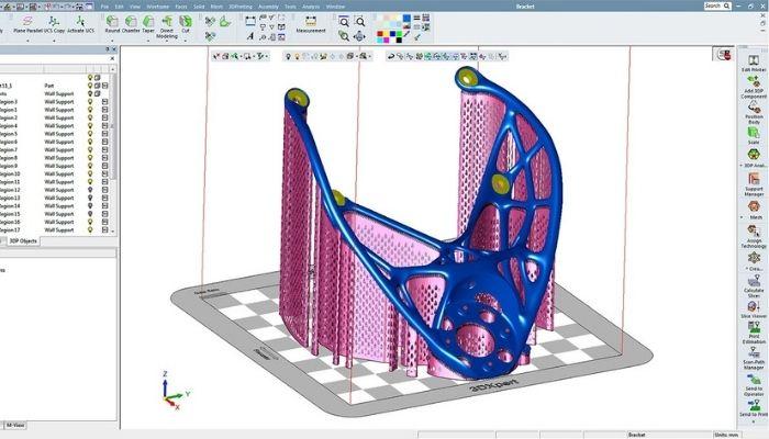 3DXpert Phần mềm nằm trong hệ sinh thái 3D Systems